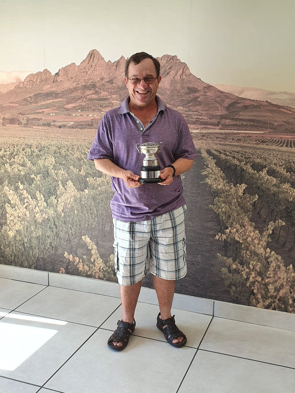 Congratulations Peter Johnson and Richard Prosser on your first place in the Handicap Doubles Western Cape Golf Croquet Championships!!